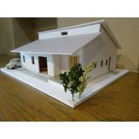 ロフトのある家(模型)
